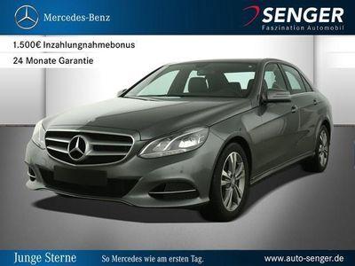 gebraucht Mercedes E200 E-KlasseBlueTEC Limousine Avantgarde Park-Assist L