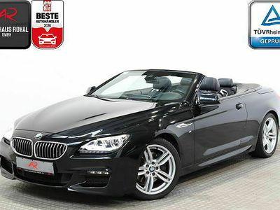 gebraucht BMW 640 Cabriolet d SAG M SPORT DIG.TACHOMEMORYLEDSH Neu