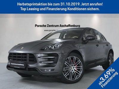 gebraucht Porsche Macan Turbo Luftfed Chrono Kamera 21-Zoll PDLS