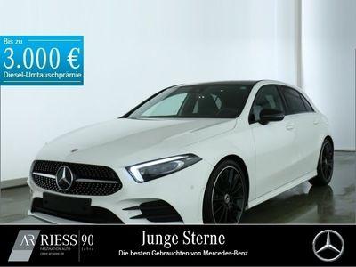 gebraucht Mercedes A250 4M AMG MBUX Pano AHK Multi Night Ambi 19'