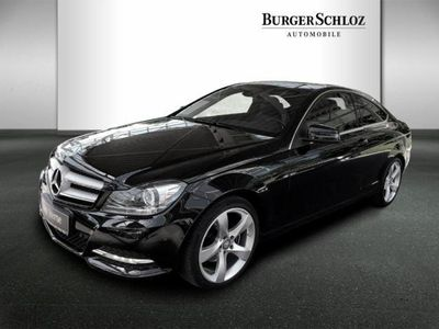 gebraucht Mercedes C180 Coupé Sportpaket/Comand/LED