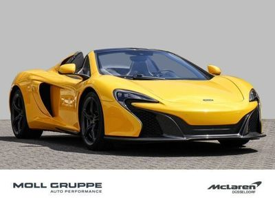 gebraucht McLaren 650S Spider Elite Volcano Yellow, Sports Exhaust