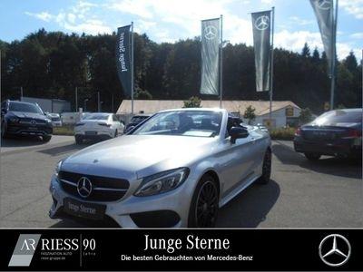 gebraucht Mercedes C200 4M Cabriolet AMG+LED+Kamera+Navi+PDC