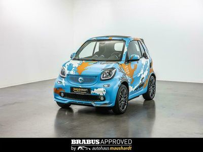 gebraucht Smart ForTwo Cabrio BRABUS tailor made HP121 BLUECAMOU