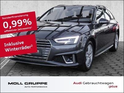 gebraucht Audi A4 Avant 40 TFSI Sport S tronic S line NAVI ALU
