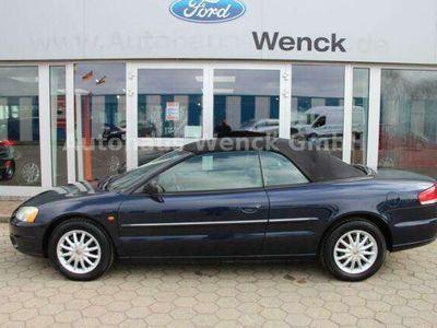 gebraucht Chrysler Sebring Cabriolet 2.0*E-Verdeck*Klimaanlage*Leder*