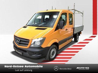 gebraucht Mercedes Sprinter 313 DoKa AHK 2 to Radio 7 Sitze Freispr