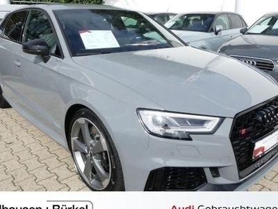 gebraucht Audi RS3 Sportback S tronic Navi Leder Einparkhilfe Vorführwagen