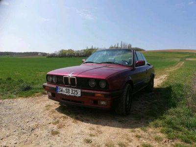 gebraucht BMW 325 Cabriolet e30 i calypsorot 149tkm schw...