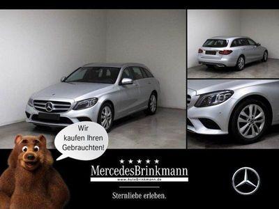 gebraucht Mercedes C220 d T AVANTGARDE/AHL/MULTIBEAM/NAVI/EASYPACK Xenon