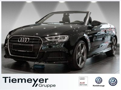 gebraucht Audi A3 Cabriolet 1.5 TFSI S-tronic 2x S-line LM19 LED Virtual Navi+