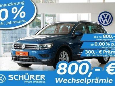gebraucht VW Tiguan TiguanHighline 2.0TDI DSG 4MOT LED°AHK°Headup°