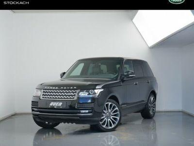 gebraucht Land Rover Range Rover SDV8 SUV (Navi Leder Xenon LED Shz)