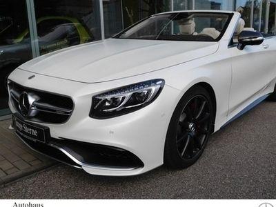 gebraucht Mercedes S63 AMG S 63 AMG AMG4M CABRIO *Magno-WEIS-MATT*Prominen.VOB*