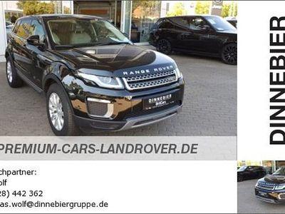 gebraucht Land Rover Range Rover evoque SE Start/Stopp E-Capability 2.0 TD4 Gebrauchtwagen, bei Autohaus Dinnebier GmbH
