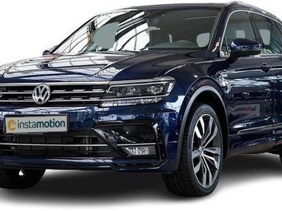 gebraucht VW Tiguan Tiguan2.0 TDI DSG 4M 239 PS R-Line LM20 Pano Leder ActiveInfo AHK