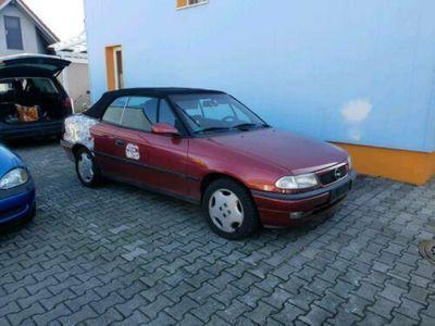 gebraucht Opel Astra Cabriolet f heckunfall leder