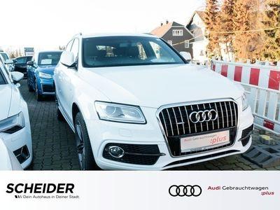 gebraucht Audi Q5 2.0 TDI qu cd 2 x S line Navi Klima Xenon