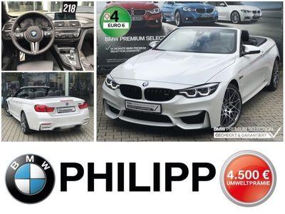 gebraucht BMW M4 Cabriolet M Competition HUD h&k DAB WLAN LED