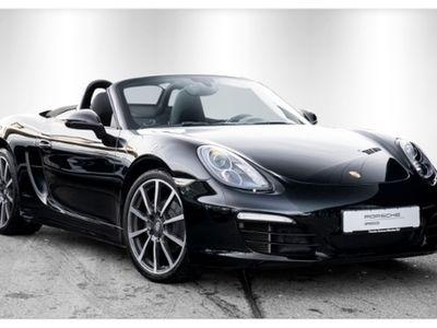 gebraucht Porsche Boxster Black Edition Sportabgasanlage 20-Zoll