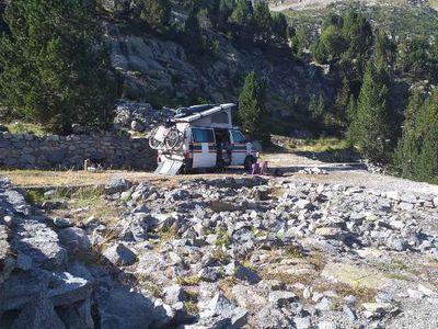 gebraucht VW T4 sehr cooler Campingbus