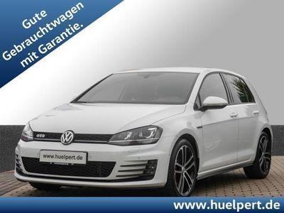 gebraucht VW Golf VII 2.0 TDI GTD Sport + Sound Xenon, Navi