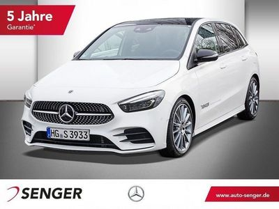 gebraucht Mercedes B220 4MATIC AMG Line Navi Kamera Night Panorama