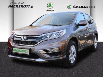 gebraucht Honda CR-V Elegance 4WD 1.6 i-DTEC Navi Rückfahrkam. Allrad PDCv+h LED-Tagfahrlicht Tel.-Vorb.