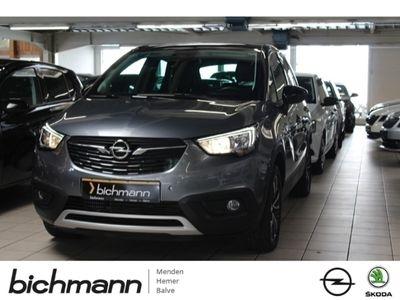 gebraucht Opel Crossland X Innovation AT Navi PDCv/h 2xCam Dach schwarz