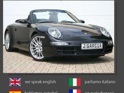 """gebraucht Porsche 911 (997) Cabrio, deutsch, 19"""" Alu, Sportabgas"""