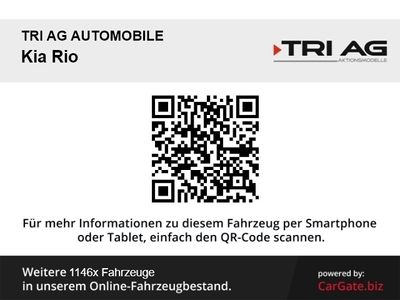 gebraucht Kia Rio 1.4 EX Klima CD AUX USB MP3 ESP MAL Multif.Lenkrad Seitenairb. met. Radio TRC Airb