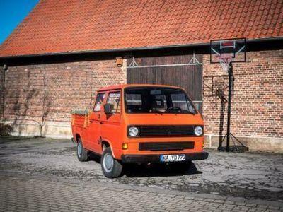 gebraucht VW T3 Doka 1.6 D CS rostfrei TÜV 09/2020, EZ 1987,sehr gute Basis
