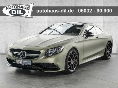gebraucht Mercedes S63 AMG S 63 AMG AMGCoupe 4Matic ' Dunke grün Foliert '