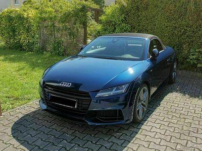 gebraucht Audi TT Roadster 2.0 TDI Quattro S Tronic Scubablau
