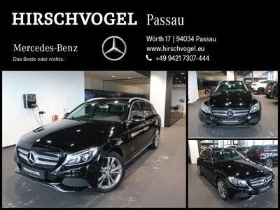 gebraucht Mercedes C350e AVANTGARDE+AIRMATIC+Navi+LED+PDC+SHZ