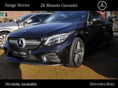 gebraucht Mercedes C43 AMG AMG 4M Cabriolet Comand/Spur-P./LED/Kamera