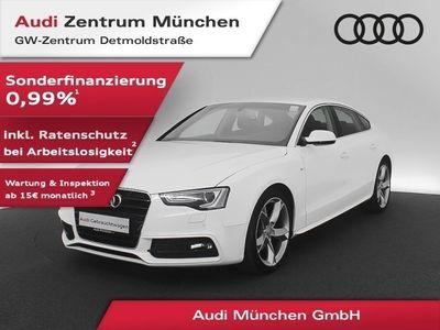 "gebraucht Audi A5 Sportback 2.0 TDI qu. S line 19"" Navi Xenon PDCplus S tronic"