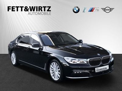 gebraucht BMW 750L d xDrive Navi Sport Autom LED HUD