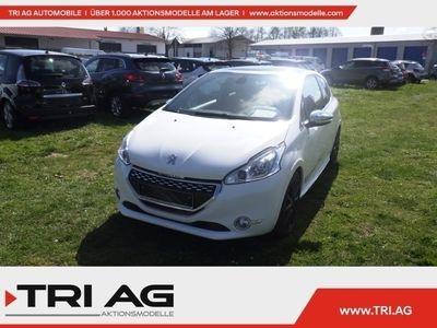 gebraucht Peugeot 208 GTi 1.6 16V THP 200 Navi Panorama Klimaautom SHZ Temp LED-Tagfahrlicht