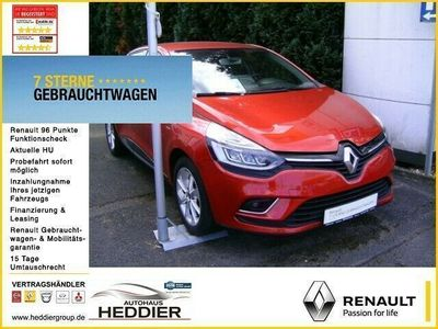 gebraucht Renault Clio IV Limited DeLuxe TCe 90 Klimaautomatik Navi