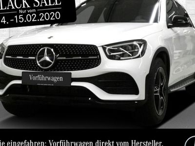 gebraucht Mercedes GLC300 4M AMG Pano LED Night Kamera Easy-Pack 9G