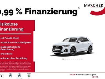 gebraucht Audi Q3 S line 40 TFSI quat Matrix B&O Assistenzpkt V MMI Navi plus el. Sitze MatrixLED Allrad