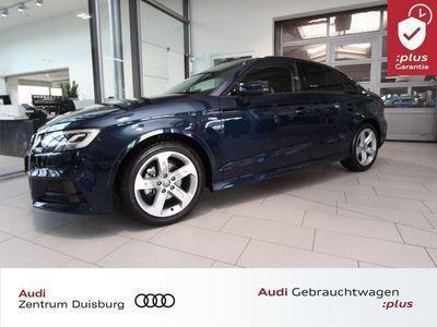 gebraucht Audi A3 Limousine Sport 1.5 TFSI Sline Ext. Navi LED
