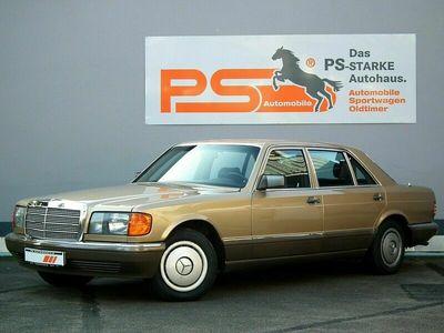 gebraucht Mercedes 420 W126 Schiebedach, sehr guter Zustand, TÜV