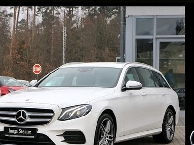 gebraucht Mercedes E200 T AMG Line Distronic Navi Kamera LED