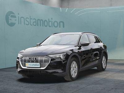 gebraucht Audi E-Tron eTron - 55 qu MATRIX Pano AHK HuD B&O Kameras DAB