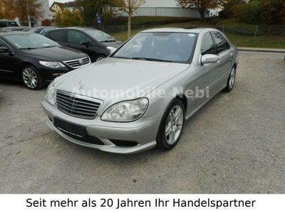 gebraucht Mercedes S55 AMG S-Klasse Lim.AMG Kompressor*Vollausstatung