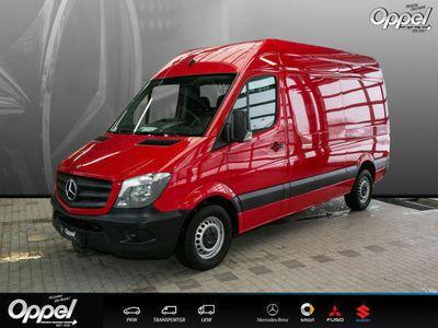 gebraucht Mercedes Sprinter 313 CDI KA Hochdach +AHK+Beif.-2-Sitzer+Tachogr+