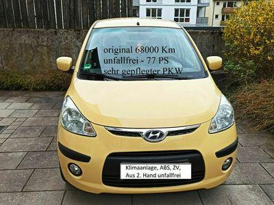 gebraucht Hyundai i10 1.2 Classic Ambiente1.Hand Bestzustand 78 PS