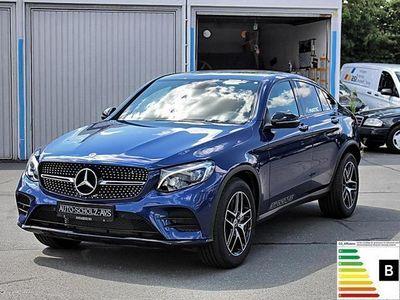 gebraucht Mercedes GLC350 d 4M Coupé AMG Night Navi Cam SpurP. LED